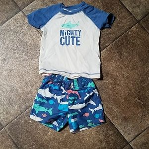 Shark Swim Outfit
